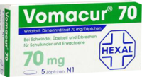 VOMACUR 70 Suppositorien