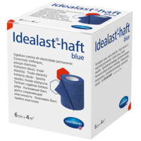 IDEALAST-haft color Binde 6 cmx4 m blau